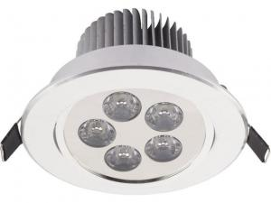 LAMPA PODTYNKOWA DOWNLIGHT LED 5 SILVER  6822