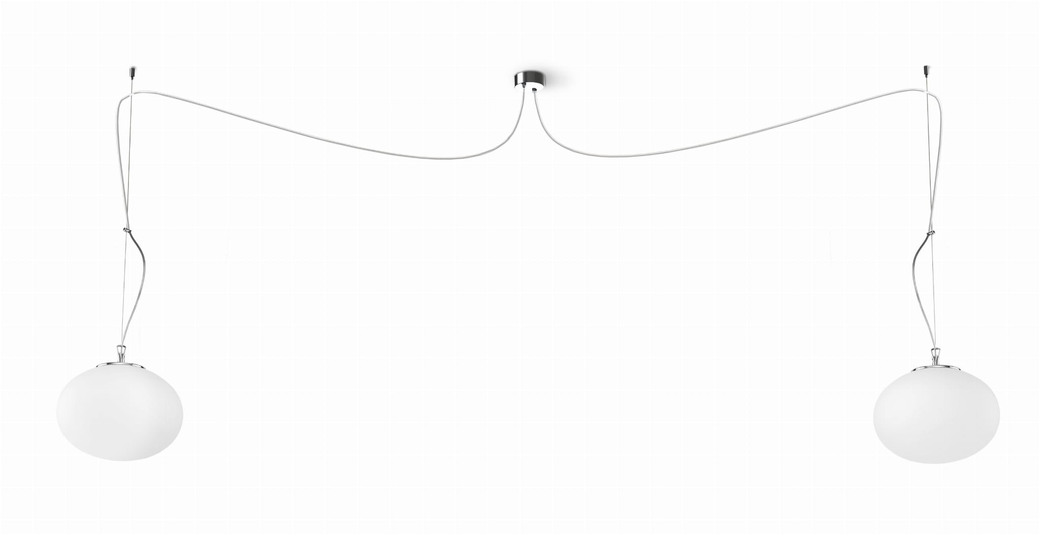 Lampa wisząca NUAGE II 9272 Nowodvorski Lighting